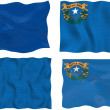 Flag of Nevada — Stock Photo