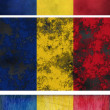 Foto Stock: Flag of Romania