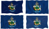 Flag of Maine — Photo