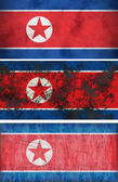 Flag of North Korea — Stock Photo