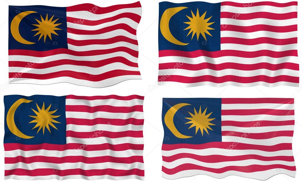 Great Image of the Flag of Malaysia  Stock Photo #2355036