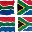 Flag of South Africa — Stock Photo #2399973