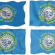 Flag of south Dakota — Stock Photo #2399981
