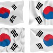 Flag of South Korea — Stock Photo #2399985