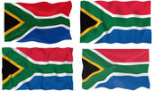 Flag of South Africa — Stock Photo
