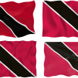 Flag of Trinidad, Tobago — Stock Photo