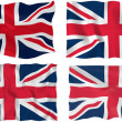 Flag of United Kingdom — Stock Photo #2400031