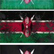 Flag of Kenya — Stock Photo #2425583