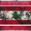 Stock Photo: Flag of Lebanon
