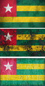 Flag of Togo — Stockfoto