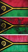 Flag of Vanuatu — Stock Photo