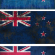 Flag of New Zealand — Stock Photo #2585022