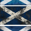 Flag of Scotland - Stock Photo