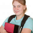 Girl ready for college — Stock Photo #2587108
