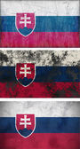 Flag of Slovakia — Stock Photo