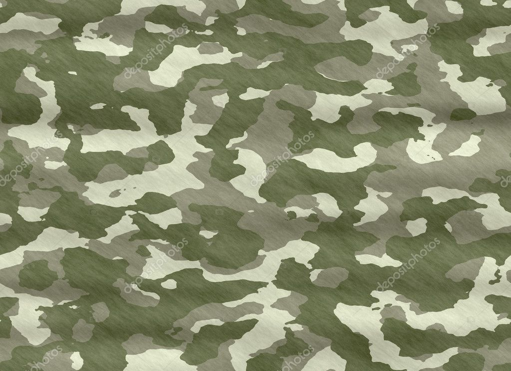 Camo camouflage material - stock illustration
