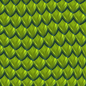 Green dragon scales background — Stock Vector