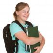 Girl ready for college — Stock Photo #2615272
