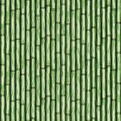 Bamboo wall — Stock Vector