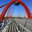 Stock Photo: Picturesque bridge, Moscow, Russia