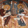 Fresco in Dark Church — Stock Photo #1063759