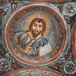 Stock Photo: Fresco in the Dark Church