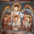 Fresco in the Dark Church — Stock Photo #1063836