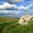 Stockfoto: Picturesque landscape with stone