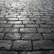 Stock Photo: Paving blocks after rain