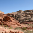 Petra red rocks — Stock Photo #1064932