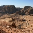 Petra up view — Stockfoto
