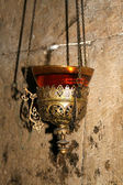 Lamp in the Church of the Holy Sepulchre — Stock Photo