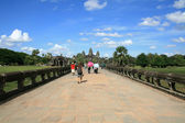 Way to the Angkor Wat — Stock Photo