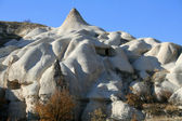 Tuff caves, Goreme, Cappadokia, Turkey — Foto Stock