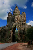 Angkor Thom South Gate — Stock Photo