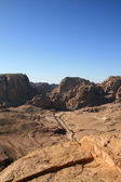 Petra view point — Stock Photo