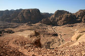 Petra up view — Stock Photo
