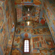 Painted Russian church ceiling — Stock Photo #1090031