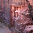Petra, El-Khazneh, Treasury — Stockfoto #1090431