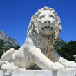 Stock Photo: Vorontsov palace, lion statue