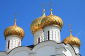 Russian church spires — Stock Photo
