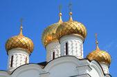 Russian church spires — Stock Photo