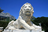 Vorontsov palace, lion statue — Stock Photo
