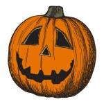 Halloween pumpkin sketch — Stock Vector #1173882