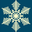 Snowflake — Vector de stock #1400844