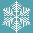 Snowflake — Vector de stock