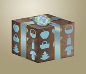 Illustration of gift box — Stock Photo