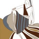 Vector fashion illustration — Stock Photo #1463157