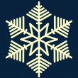 Snowflake — Vector de stock #1462956