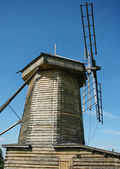 Old wind power windmill — Stock Photo